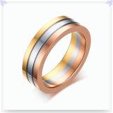 Anillo de dedo de la joyería del acero inoxidable de la joyería de la manera (SR779)