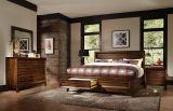 미국 현대 작풍 나무로 되는 침실 세트 (큰 주식)