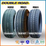 Coche radial de la polimerización en cadena de Passerger de la confianza de calidad superior el nuevo pone un neumático 225/55r17 el neumático en línea del departamento UHP