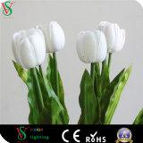 Hochzeits-Dekoration reines weißes Atificial Blumen-Licht