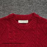 소년의 뜨개질을 한 입체 음향 길쌈된 패턴 스웨터 스웨터