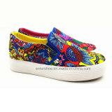 2017 de nieuwe Schoenen van het Canvas van de Stijl Vrouwen Gevulcaniseerde (et-LD160133W)