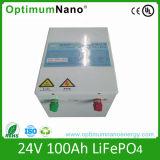 24V 100ah LiFePO4 Batterie-Sätze für Sonnensystem-Energie