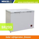233L замораживателя холодильника DC толщины изготовления замораживатель холодильника солнечного 110mm солнечного солнечного солнечный