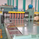 Высокое качество обрабатывало изделие на определенную длину линия для катушки металла