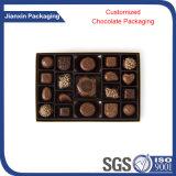 Boîte de empaquetage de carton de papier de cadeau à chocolat de luxe de sucrerie