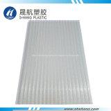 El panel claro helado del material para techos del policarbonato para el Carport
