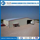 Edifício rápido da construção de aço do painel de sanduíche da configuração da fonte da fábrica da fonte de China