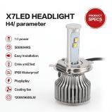 Farol do diodo emissor de luz do CREE do feixe H4 elevado para Lexus Nxrxsc