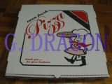 Chiusura d'angolo del contenitore di pizza del cartone per scatole per la durezza (CCB12131)