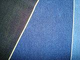 Красная синь индига ткани Twill джинсовой ткани Slub хлопка зальбанда