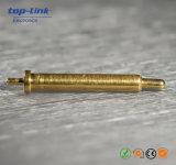 真鍮のバネ付きのコネクターのPogo Pin電池コネクター