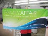 Рекламирующ яркое знамя индикации ткани напряжения крытое/напольное с таможней