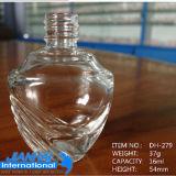 Bottiglia di vetro del polacco di chiodo del mestiere di figura di Pentagram
