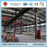Taller prefabricado del marco de la estructura de acero del diseño