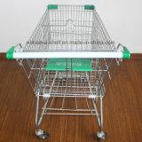 Оптовая дешевая тележка вагонетки покупкы металла бакалеи розницы тележки нажима супермаркета цены для сбывания