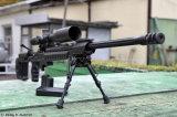 El estilo táctico de Harris del rifle gira sobre un eje 6-9 la pulgada Bipod