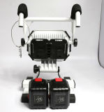 PRO Indústria bateria substituível recarregável 40W LED trabalhando Floodlight com ímã
