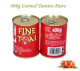 Pasta de tomate atacado dupla Concentrado em latas e latas de 400g para a África