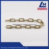 Encadenamiento de conexión galvanizado electrónico amarillo Nacm90