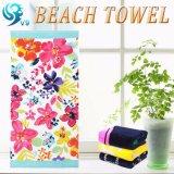 健康で柔らかいテリーの綿のビーチタオル