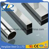 ASTM A312 tubo rettangolare senza giunte/saldato di TP304/304L dell'acciaio inossidabile