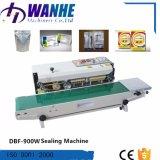 Máquina continua automática del lacre del bolso del sellador de la venda de Dbf-900W con la impresora