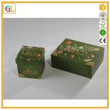 カスタムクリスマスのペーパーボール紙の折るボックス