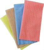 Pulitori puliti Spunlace a gettare della famiglia non tessuto pulendo panno
