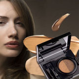 2 het Waterdichte Oog van het Gel van de Mascara van de Room van de Wenkbrauw van de kleur - brow Versterker van de Wenkbrauw van de Make-up van de Schoonheid van het Gel de PRO met Borstel