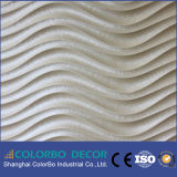 水防止の波3Dの装飾的な壁パネル