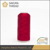 50d/2 Oeko-Tex100 1 Kategorien-Polyester-Stickerei-Gewinde für das Mit der Hand stricken