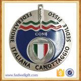 Medallas del esmalte suave Calidad Superior Promoción de eventos Metal Plata