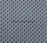 Verzerrung strickte Polyester, 3D das gefärbte Garn, Luft-Ineinander greifen