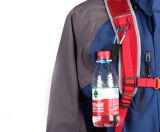 Hebilla conveniente del gancho de leva de Carabiner del sostenedor de botella que lleva con el compás