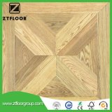Carrelage stratifié par surface en bois neuve de texture de configuration