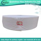 Premier tissu de roulis enorme de pente pour le papier de soie de soie d'enveloppe de matières premières de couche-culotte de bébé
