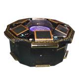 Máquina de juego eléctrica de la ruleta de 6 jugadores para el casino