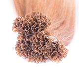 U-Inclinar la extensión brasileña del pelo humano del pelo de la queratina