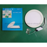Ronde 24W Slim LED Panel Light voor Embedded Mounted