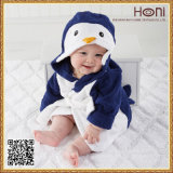 Милое животное с капюшоном полотенце младенца