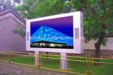 P6 Digitaces al aire libre que hacen publicidad de la talla a todo color al aire libre de la visualización de LED de la pantalla de visualización de LED P6 RGB que hace publicidad de la muestra del vídeo, de la imagen y del texto LED