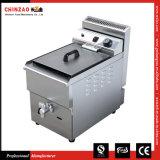 中国の製造者17Lのカウンタートップ商業LPGのガスのフライヤー
