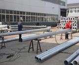 Por inmersión en caliente galvinized 6m-15m lámpara solar precios de poste de postes de acero