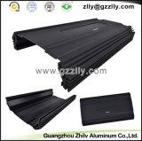 Schwarze Farben-Auto-Gussaluminium-Profil-Kühlkörper