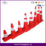 cone do tráfego do refletor do PVC de 30cm