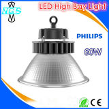 Luz elevada do louro do diodo emissor de luz do excitador IP65 de Meanwell da microplaqueta da Philips