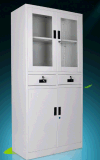 분산하십시오 상업적인 유리제 문 강철 서류 캐비넷 (CZ-7)를