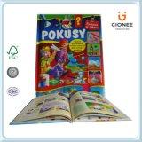 Libros educativos de Casebound de la impresión de papel para los niños