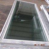 Porte en verre de profil de fibre de verre de vente d'usine de la Chine de tissu pour rideaux en plastique du bâti UPVC pour la salle de bains